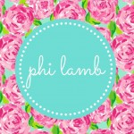 Phi Lamb!!! We're SO cute!