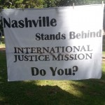 Amazing banner made by Victoria Hester, a very proactive and talented member of Vandy IJM!