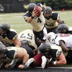 Vanderbilt hosts Massachusetts in NCAA football.  Photo by Joe Howell