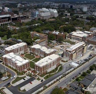 Commons from above Vanderbilt University Commons