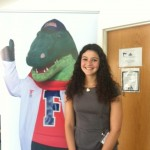 Me and Dr. Albert Gator