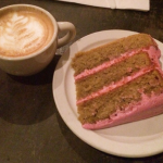 Beet cake and local lattes — Marge's treats of choice