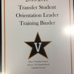 I'll be a trasfer student orientation leader in the fall.  If you transfer to Vanderbilt, you may meet me!