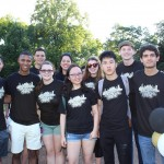 My orientation group before Founder's Walk!