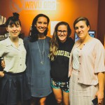 From the Left: Pepita Emmerichs (Oh Pep!), Julia Anderson, Sammy Spencer, Olivia Hally (Oh Pep!); Photo Credit: WRVU Nashville