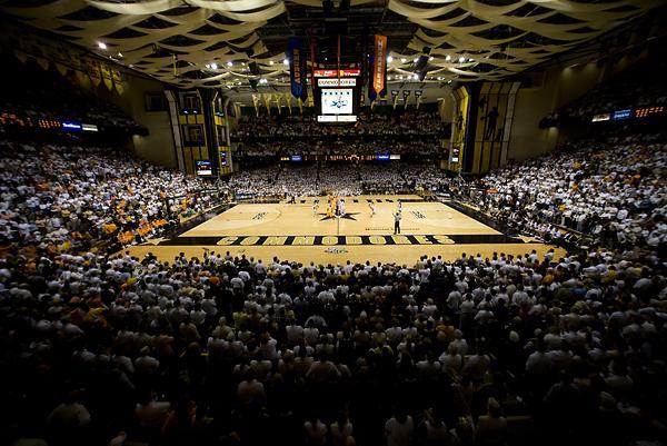 Memorial Gym Inside Dores Vanderbilt University