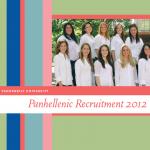 Panhellenic Recruitment 2012