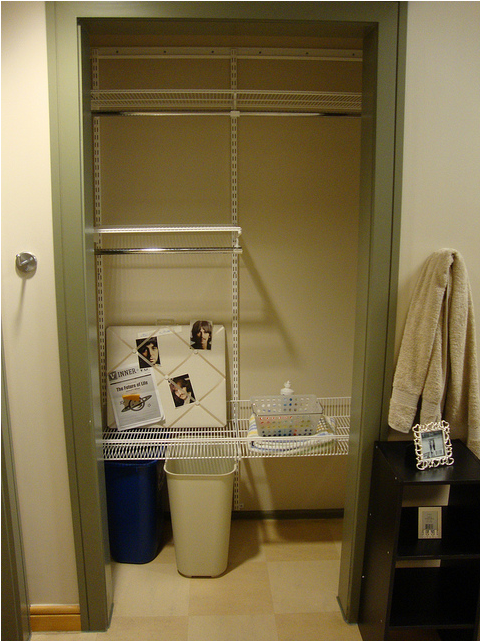 Dorm Room Closet: Vanderbilt University