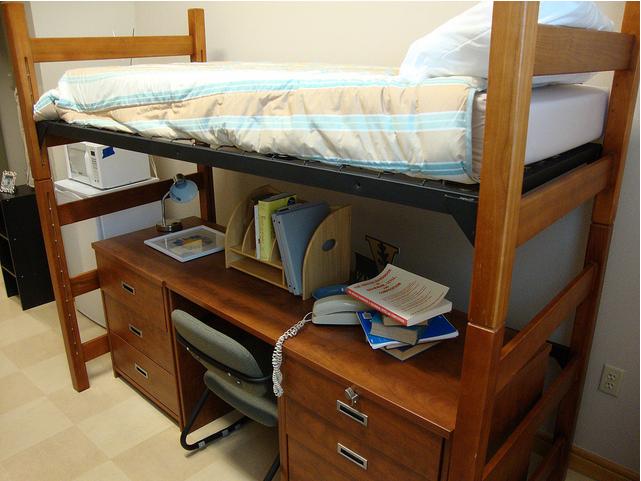 Bed Amp Desk Inside Dores Vanderbilt University