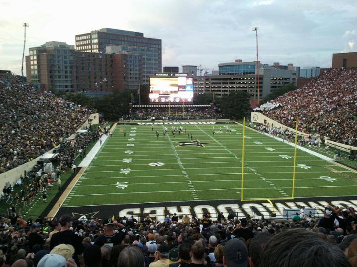 Stadium Inside Dores Vanderbilt University