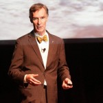 Bill Nye, in all of his glory. Photo courtesy The Vanderbilt Hustler