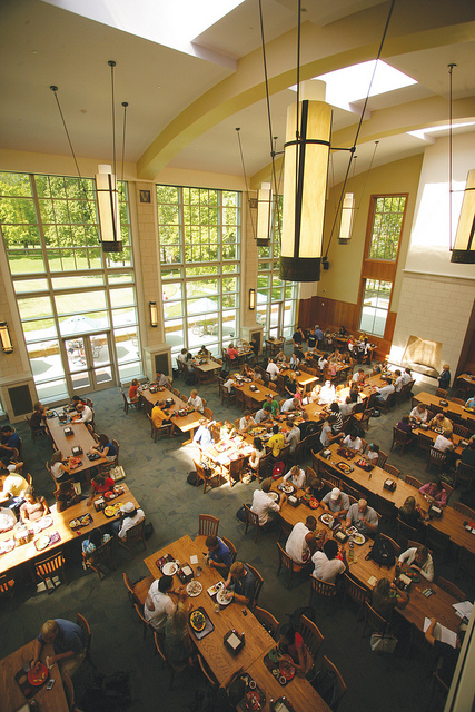 Dining hall inside 39 dores vanderbilt university for U of t dining hall hours
