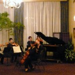 Our awesome piano quintet.  We bonded.