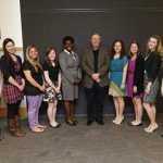 The Patterson Scholars taking a picture with James Patterson, Vandy graduate and New York Times #1 Bestseller.