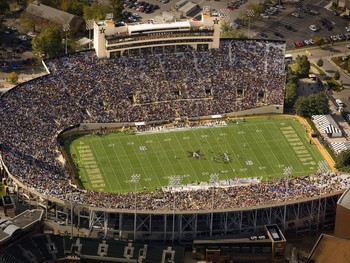 Vanderbilt University Football 2008 Season Gameday At