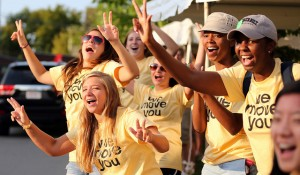 Move-In Day served as a warm welcome to the incoming Class of 2016 (Joe Howell / Vanderbilt)