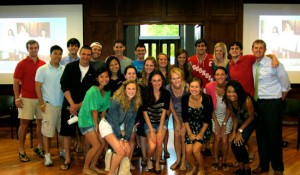 Class of 2012 Tour Guides
