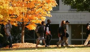 Fall campus shots(Vanderbilt Photo /  Daniel Dubois)