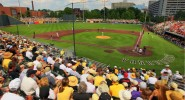 Fans break out the black and gold at Hawkins Field (vucommodores.com)