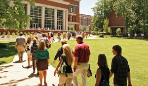 Summer is the perfect time to make a visit to Vanderbilt's campus.  (Photo by Vanderbilt University)