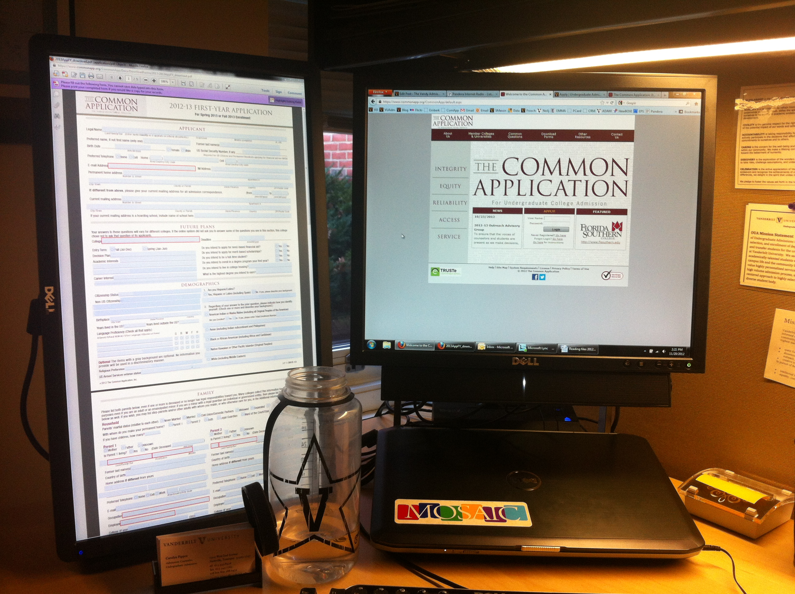 common application essay questions fall 2013
