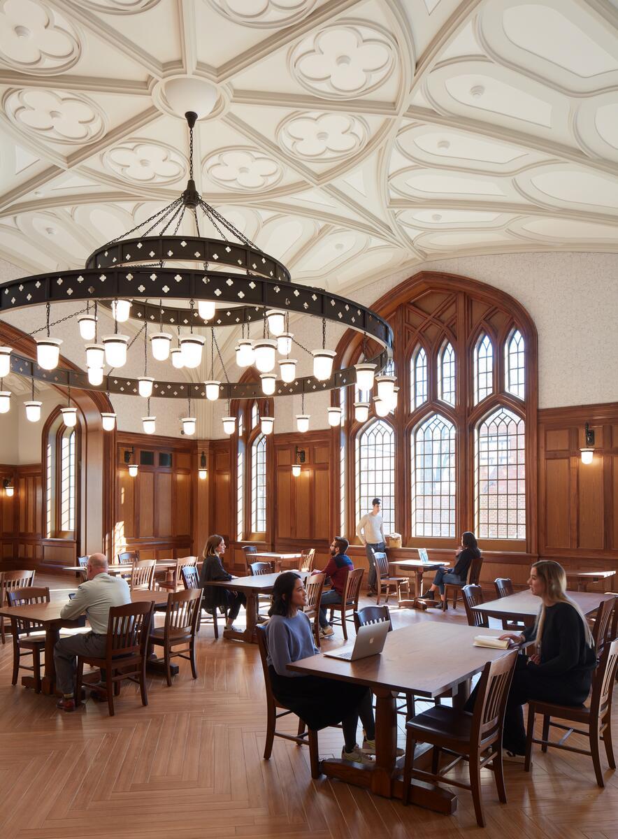 Nicholas S. Zeppos dining hall