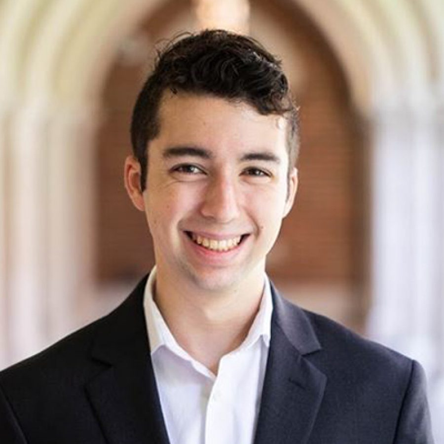 portrait of current student Cristian Ochoa