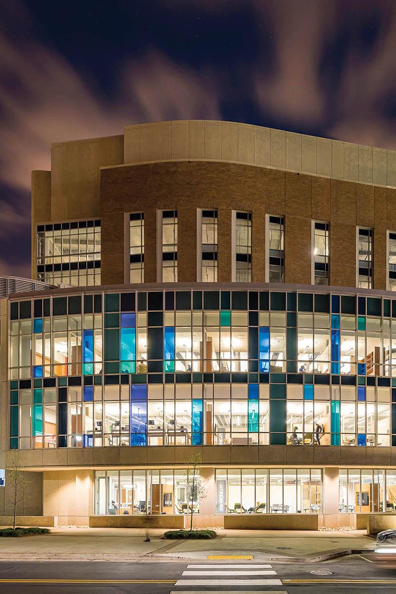 Engineering and Science Building at Vanderbilt Univeristy, Nashville, TN