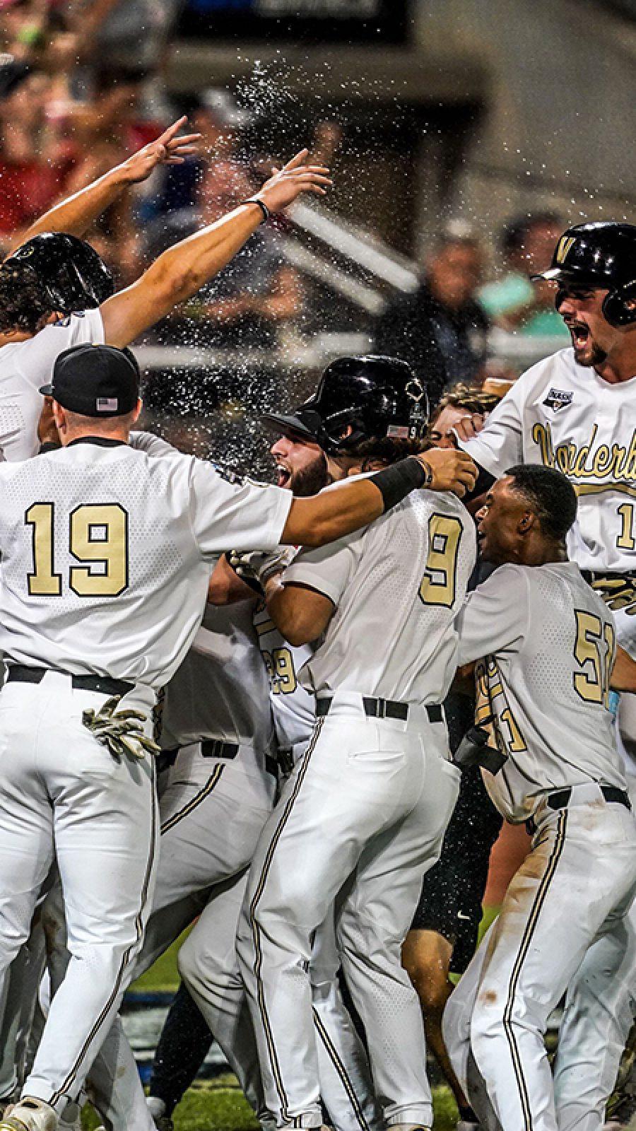The Vanderbilt baseball team
