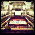 The beautiful symphony center!